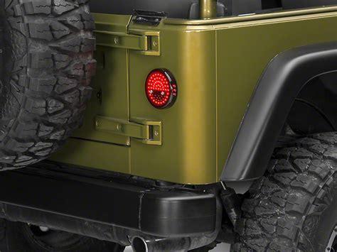 jeep tj led lights wrangler litedots led lights 87 06 wrangler yj tj