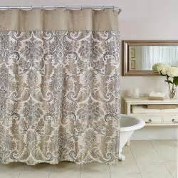 The Home Decorating Company by Shower Curtains Fabric Extra Long Shower Hookless