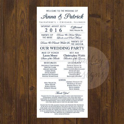 Wedding Brochure Copy Hadley Designs Programs