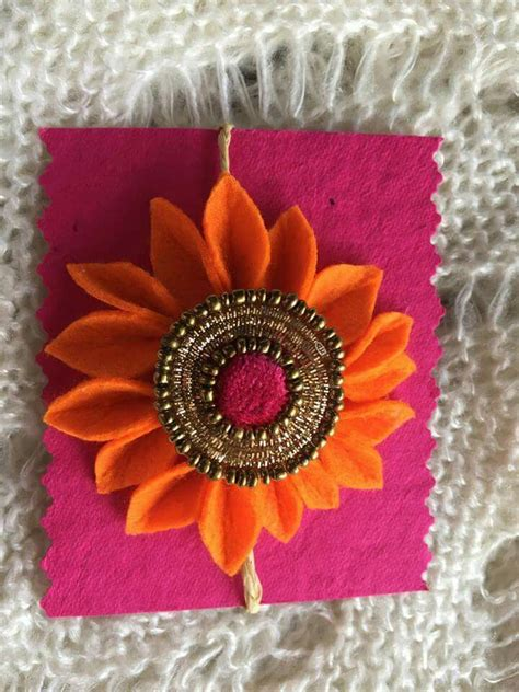 Handmade Rakhi Card Designs