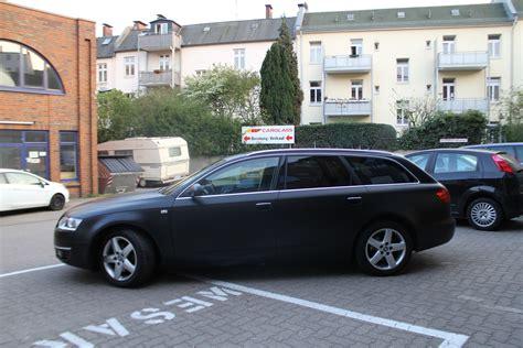 Audi A6 Schwarz by Audi A6 In Schwarz Matt Nato Oliv