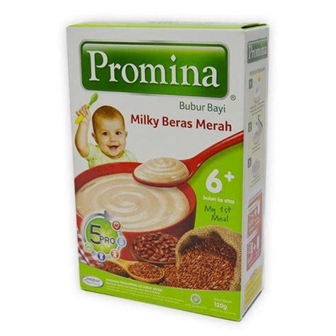 Vidoran Ibunda Coklat 375 Gr detil produk promina 6 bubur bayi 120 gr beras merah