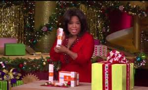 The Talk Audience Giveaways - oprah s favorite things 2010 christmas show crowds go wild daily mail online
