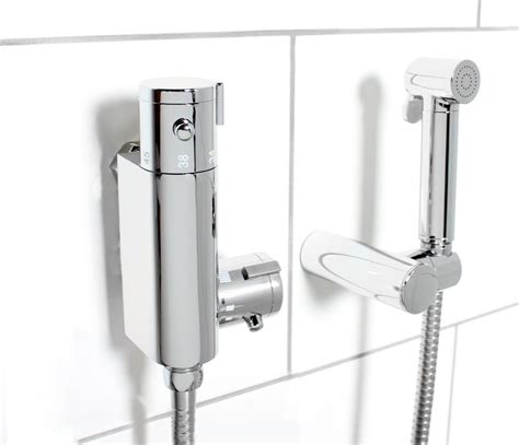 thermostatic toilet douche thermostatic douche kit bidet toilet brass chrome shower