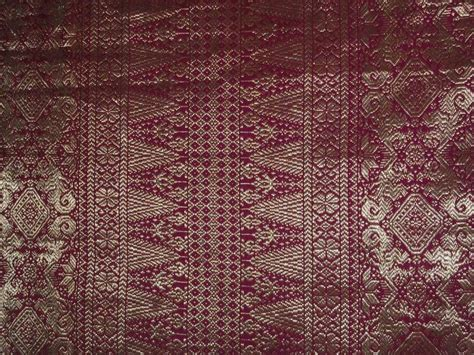 Songket Asli Palembang Multicolour 5 songket palembang ikat batik and kabaya