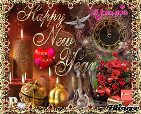 happy new year my sweet friend susi animated pictures for
