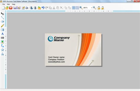 program to make business cards business card design software make discount visiting