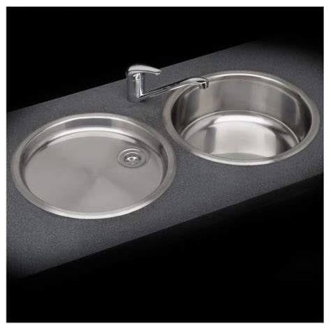 round kitchen sink and drainer reginox round bowl sink and drainer set sinks taps com