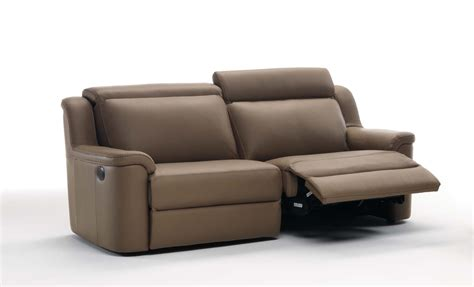 two seater recliner sofa electric recliner sofa brown leather electric recliner
