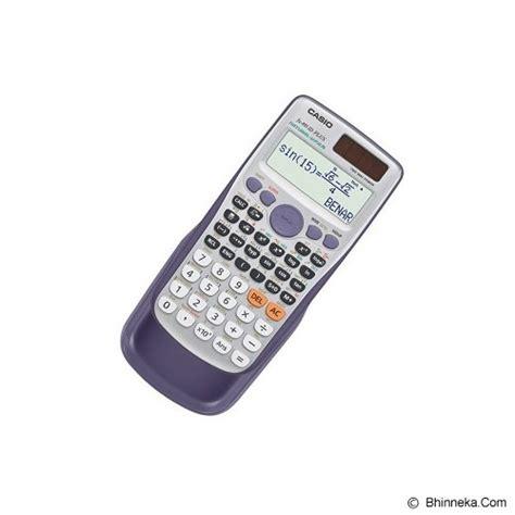 Diskon Casio Fx 4500pa Kalkulator Ilmiah jual casio kalkulator fx 991id plus murah bhinneka