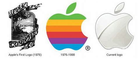 apple logo history history of apple computer inc old photos of apple
