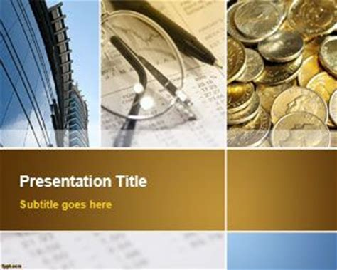 Free Accounting Powerpoint Template Free Financial Powerpoint Templates