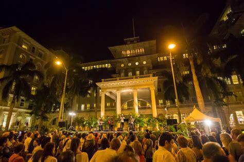 film festival moana surfrider aloha festival is during september in hawaii i love