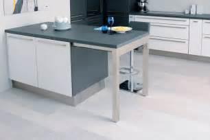 quand la table de cuisine devient meuble design la cuisine
