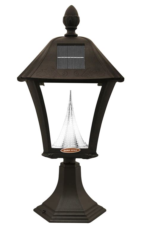 Outdoor Solar Light Fixtures Gama Sonic Baytown Solar Outdoor Led Light