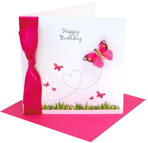 card butterfly card invitation design ideas colored style butterfly