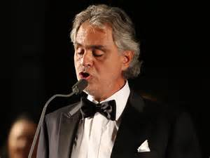 Bocelli Blind Why Is Andrea Bocelli At The Festival Of Families