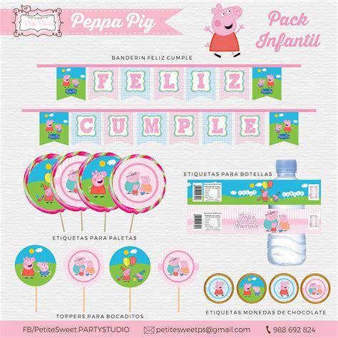 kit imprimible de peppa pig peppa pig imprimible gratis una mami creativa