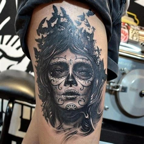 day of the dead tattoo designs for men tattoo ideas