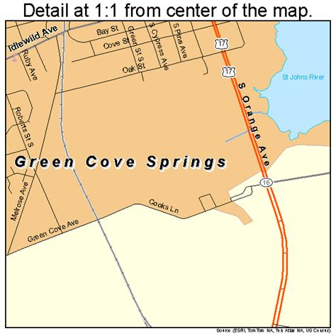 florida springs map green cove springs fl map pictures to pin on pinsdaddy