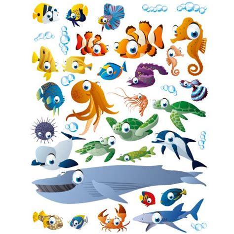 Wandtattoos Kinderzimmer Fische Meereswelt by Wandtattoos Meereswelt Reuniecollegenoetsele