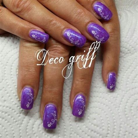 Deco Ongle Violet by Ongle Magnifique Couleur Mauve Avec Deco Ongle Deco