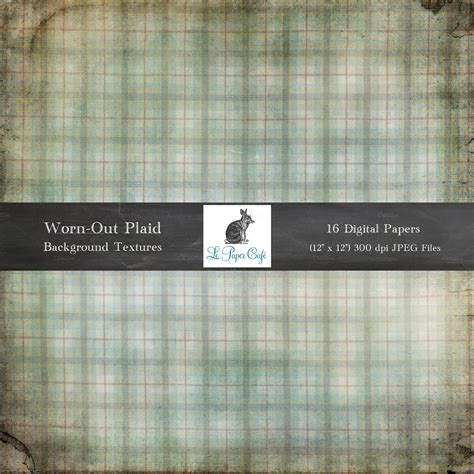 Plaid In Or Out by Worn Out Plaid Background Textures Textures On Creative