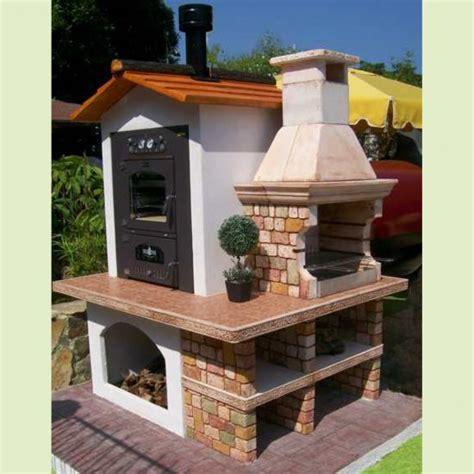 forni a legna con barbecue da giardino forno barbecue panarea miccich 232 architetture da giardino