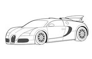 Bugatti Veyron Para Colorear  Imagui sketch template