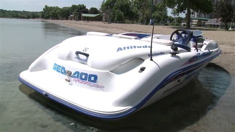 sea doo speed boat 1997 sea doo sportster youtube