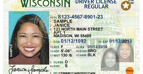 indiana id card template id trainers new wisconsin driver license and ids