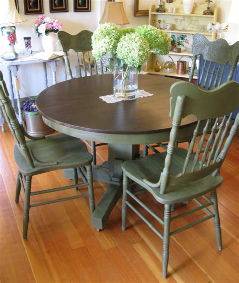 painted kitchen table and chairs my furniture purchase for the house