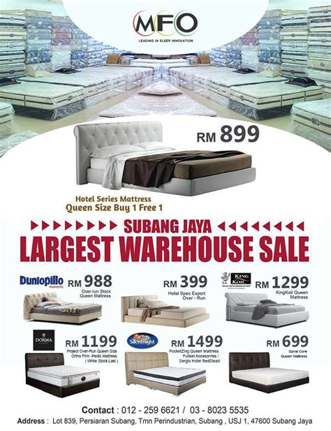 mfo largest warehouse sale subang jaya home