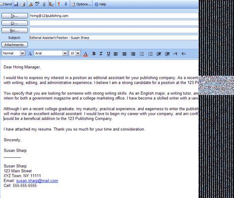 s p m corporation mail 6 easy steps for emailing a resume and cover letter
