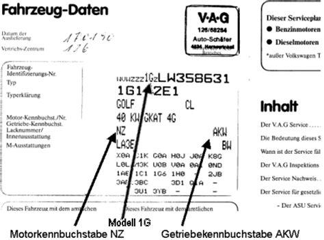 Vw Motorcode Aufkleber by Golf 3 Springt Pl 246 Tzlich Nicht Mehr An Vw Golf 3