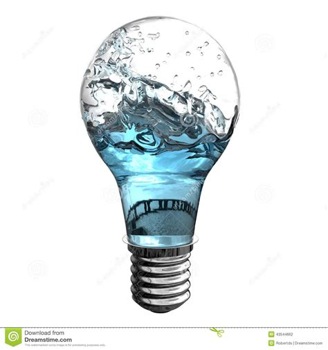 Water Light L by Water Energy Stock Illustration Image Of Creative Motion