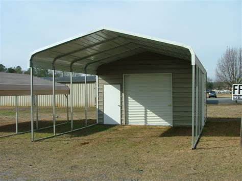 Metal Carport Structures Regular Roof Style Utility Carport Buildings