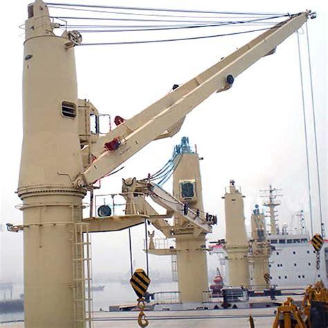 pedestal jib crane professional ship crane for sale offshore pedestal marine