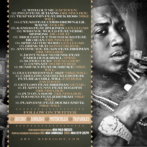 gucci mane im a gucci mane i m up hosted by dj dj j1 trap a holics mixtape