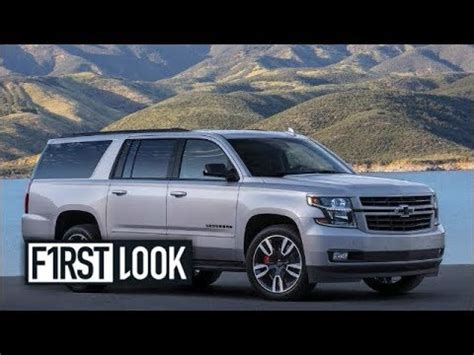 chevrolet suburban rst performance package youtube