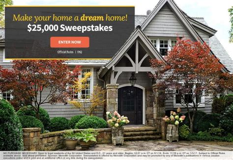 Bhg Giveaway - can you get through these bhg sweepstakes without entering a single one