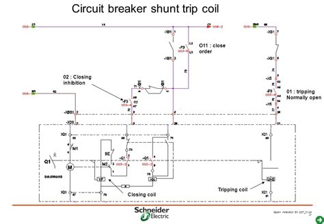circuit breaker shunt trip wiring diagram fuse box and