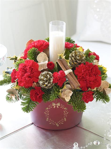 images of christmas arrangements fun as a gran a quick guide to christmas flower arrangements