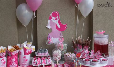 Themes For A Girl S 10th Birthday Party | kara s party ideas pink girl tween 10th birthday party