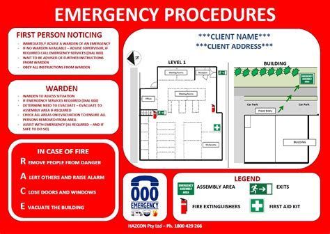 emergency evacuation template emergency evacuation diagrams