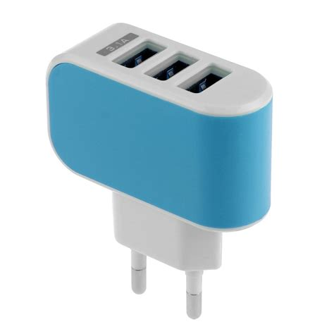 Adapter Charger 3 Port Usb Untuk Mobil Charger Adapter Usb usb port wall home travel ac power charger adapter samsung galaxy 3 1a ebay