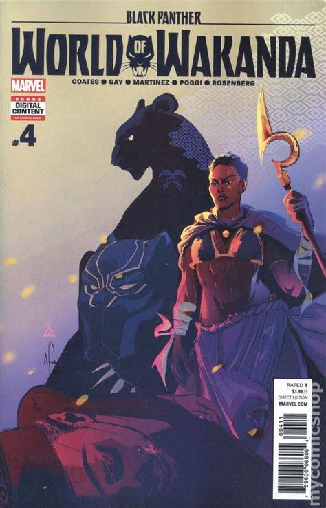 black panther world of wakanda black panther world of wakanda comic books issue 4