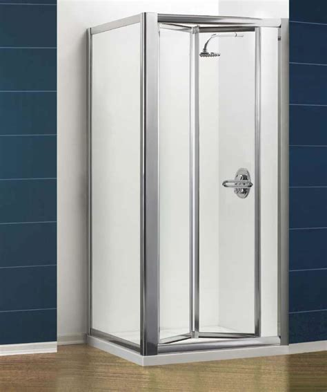 Folding Shower Door vantage bi fold shower door by eastbrook
