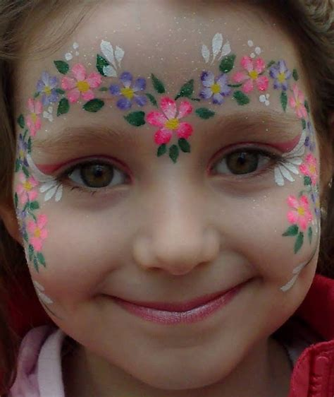 flower makeup painting the official for flour inspiration flower painting