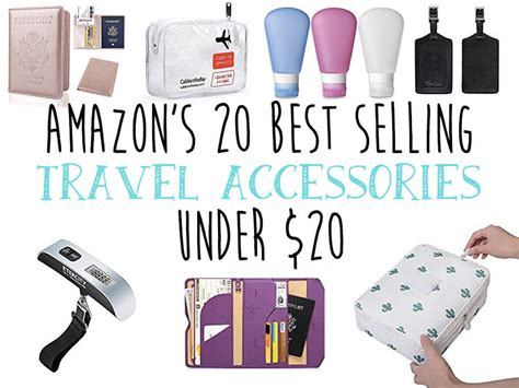 amazon travel essentials amazon s 20 best selling travel accessories under 20 taylor s tracks